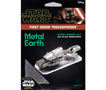 Metal Earth 3D Model Star Wars 1st order Treadspeeder