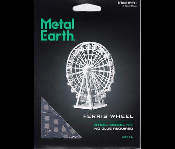 METAL EARTH 3D MODEL SILVER: FERRIS WHEEL
