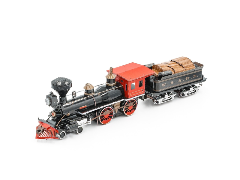 METAL EARTH 3D MODEL: WILD WEST 4-4-0 LOCOMOTIVE