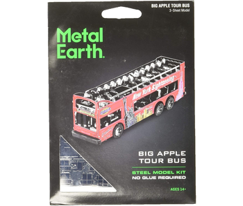 Metal Earth 3D Model : Big Apple Tour Bus