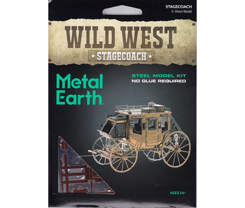 Metal Earth 3D Model : Wild West Stagecoach
