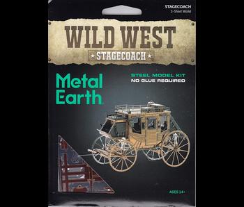 Metal Earth 3D Model : Wild West Stagecoach
