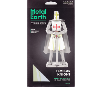 Metal Earth 3D Model : Templar Knight