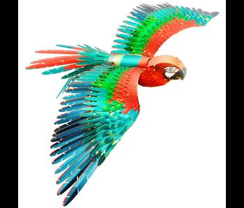Metal Earth 3D Model : Parrot Jubilee Macaw