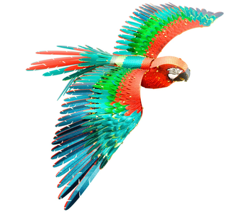 Metal Earth 3D Model : Parrot Jubilee Macaw