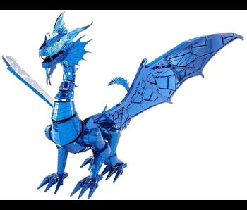 Iconx Metal Earth 3D Model KIt: Blue Dragon Metal Model Kit