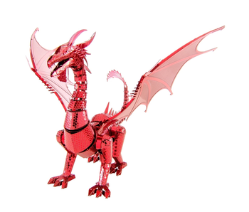 Metal Earth 3D Model : Red Dragon Iconx Steel Model Kit