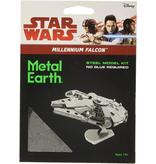 THINKPLAY METAL EARTH 3D MODEL SILVER: STAR WARS MILLENIUM FALCON