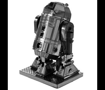 METAL EARTH 3D MODEL SILVER: STAR WARS R2-D2
