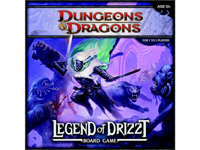 DUNGEONS & DRAGONS: THE LEGEND OF DRIZZT ADVENTURE SYSTEM BOARD GAME