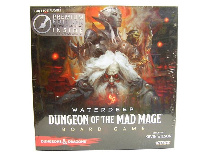 Dungeons & Dragons: Waterdeep Dungeon of the Mad Mage Board Game Premium Edition
