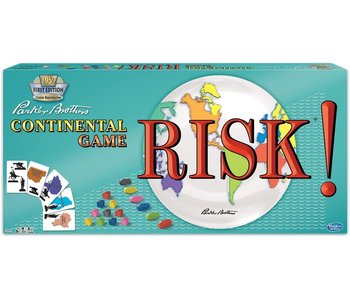 RISK! 1959 CONTINENTAL GAME