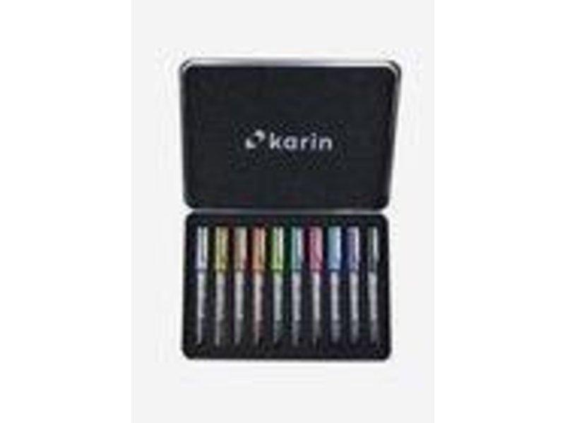 Karin Deco Brush Metallic 10 Set
