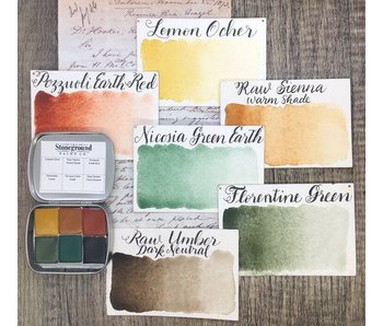 STONEGROUND PAINT HISTORIC PALETTE