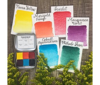 STONEGROUND PAINT SMALL PALETTE SUMMER PALETTE