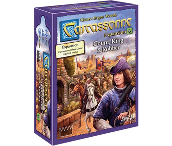 CARCASSONNE EXP 6: COUNT, KING, & ROBBER