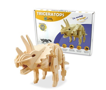 Mind Matters Sound Controlled Walking Triceratops