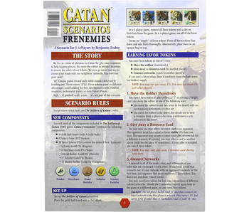 CATAN SCENARIOS - FRENEMIES