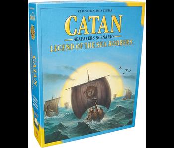 CATAN EXPANSION: SEAFARERS SCENARIO - LEGEND OF THE SEA ROBBERS