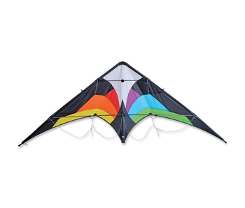 WOLF NG PREMIER KITE - BLACK RAINBOW