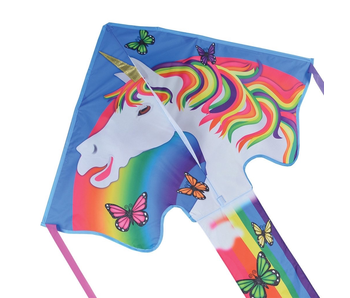 Large Easy Flyer Kite Magical Unicorn