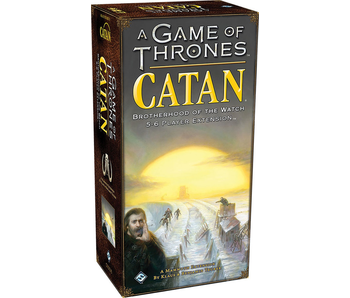 CATAN: A GAME OF THRONES 5-6 PLAYER EXP - BROTHERHOOD OF THE WATCH
