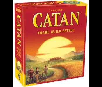 CATAN: TRADE BUILD SETTLE GAME