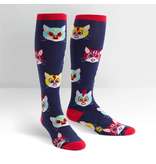 THINKPLAY SOCK IT TO ME: STRETCHY KNEE HIGH SOCKS - GATO LIBRE