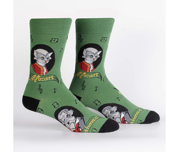 SOCK IT TO ME: MEN'S CREW SOCKS A TAIL OF TWO COMPOSERS