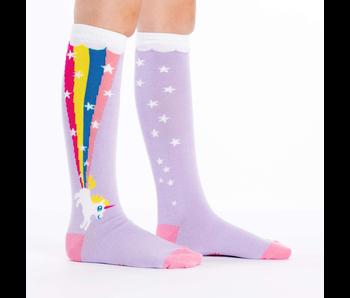 Sock It To Me : Junior Knee: Rainbow Blast