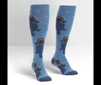 Sock It To Me Knee High Funky: Platpus