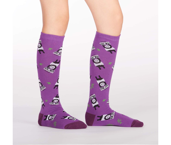 Sock It To Me : Youth Knee High Panda Anything