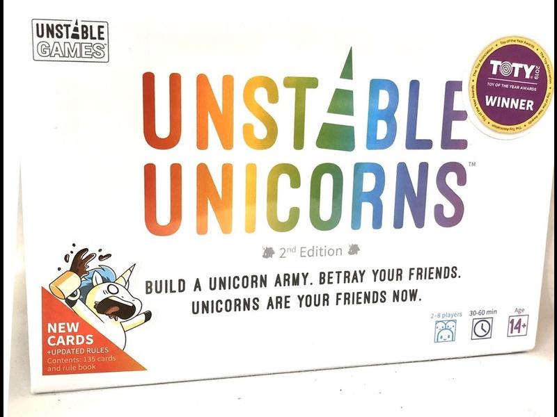 UNSTABLE UNICORNS GAME Second Edition