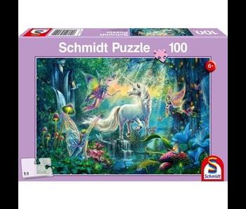 Schmidt Puzzle: Child 100 Piece Mythical Kingdom