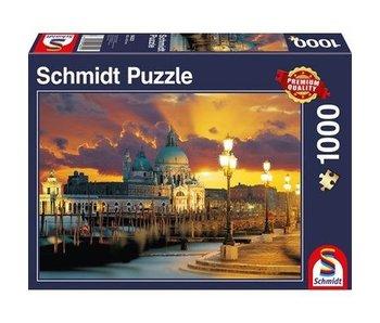 Schmidt Puzzle: 1000 Piece Santa Maria della Salute, Venice