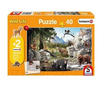 Schmidt Puzzle: 40 Piece The Animals Of The Forest