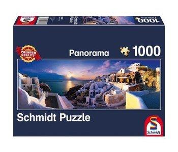 Schmidt Puzzle: 1000 Piece Sunset On Santorin