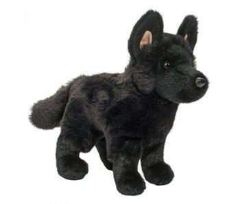 Douglas Cuddle Toy Plush Harko Black German Shepard