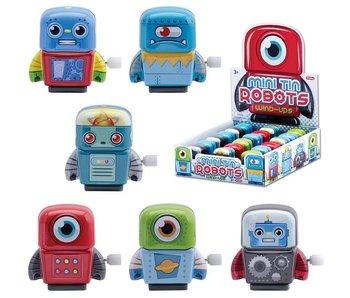 Schylling Mini Windup Tin Robots