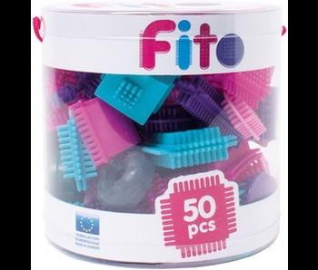 FITO 50 PCS AQUA PURPLE PINK