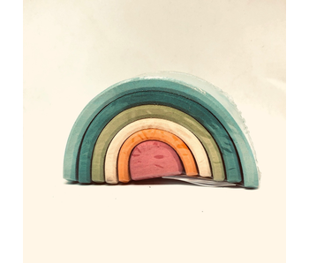 GRIMM'S SPIEL UND HOLZ IDEAS FOR PLAYING: PASTEL TUNNEL SMALL