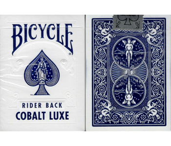 BICYCLE PLAYING CARDS - COBALT LUXE - RIDER BACK