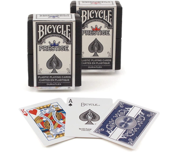 BICYCLE PLAYING CARDS - PRESTIGE PLASTIC