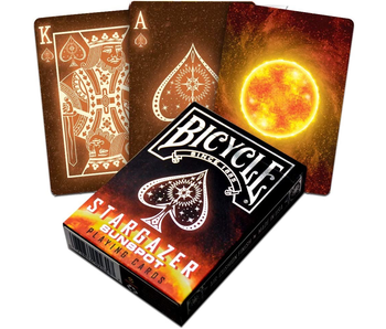 BICYCLE PLAYING CARDS - STARGAZER SUNSPOT