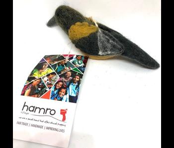 Hamro Village Felt Baltimore Oriole Hanging