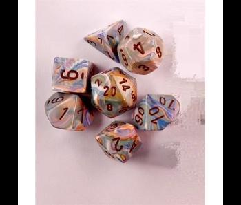 Chessex Festive 7pc Vibrant/Brown