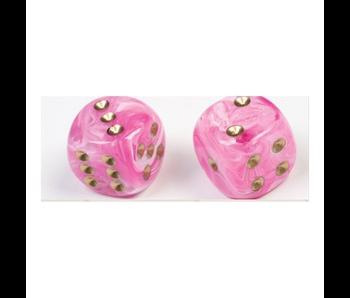 Chessex Vortex: 7Pc Pink/Gold