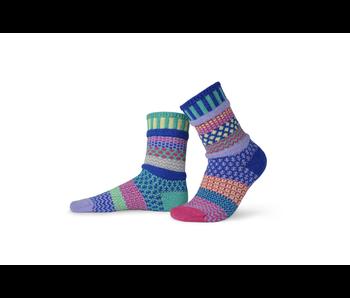 Solmate Socks Adult Crew Iris Small