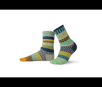 Solmate Socks Adult Crew Aloe Small