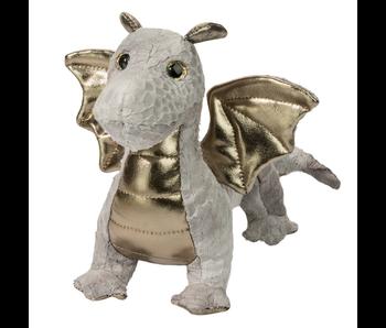 Douglas Cuddle Toy Plush Hydra Silver Dragon